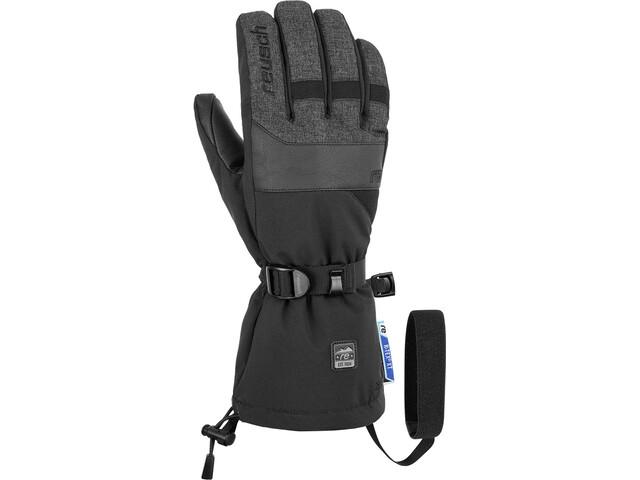 Reusch Sid R-TEX XT Triple System Gants, black/black melange